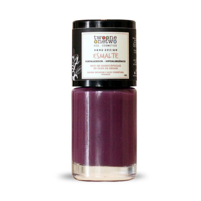 Esmalte Vegano Hipoalergênico - Purple - Twoone Onetwo  - Verdê Cosméticos