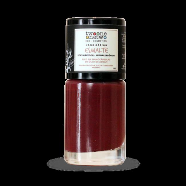 Esmalte Vegano Hipoalergênico - Red Pear- Twoone Onetwo  - Verdê Cosméticos