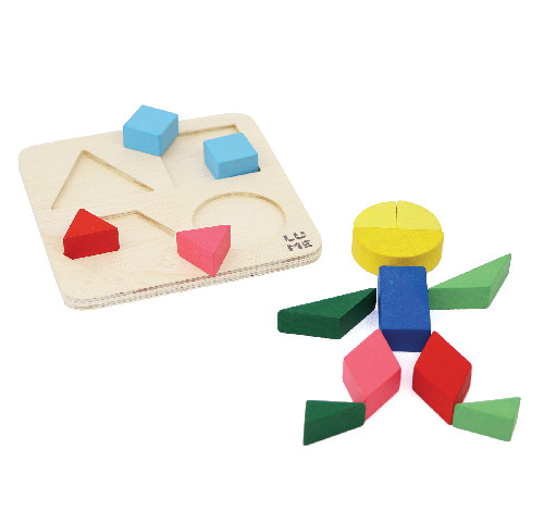 Forma as Formas - Lume Brinquedos  - Loja da Verdê