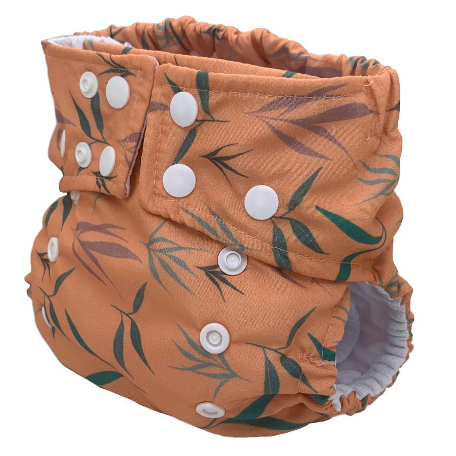Fralda Ecológica Ajustável por Botões - Plantinhas do Tamanduá - Bebês Ecológicos  - Loja da Verdê