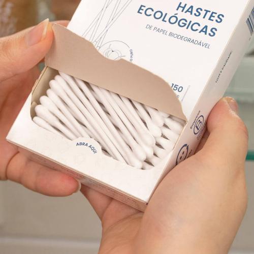Haste Flexível Ecológica de Papel Biodegradável - Positiva  - Loja da Verdê