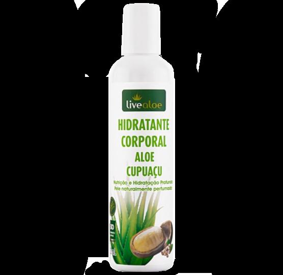 Hidratante Corporal Vegano e Orgânico - Aloe Cupuaçu - Livealoe  - Verdê Cosméticos