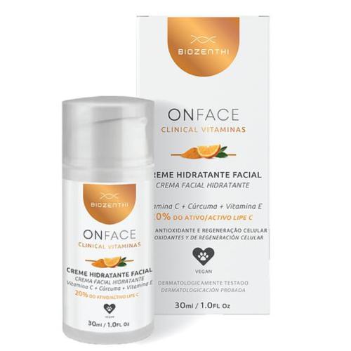 Hidratante Facial Onface Clinical - Vitamina C 20% - Biozenthi  - Loja da Verdê