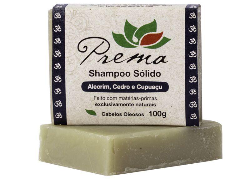 Kit Shampoo, Condicionador e Sabonete Sólidos - Veganos e Naturais - Prema  - Verdê Cosméticos