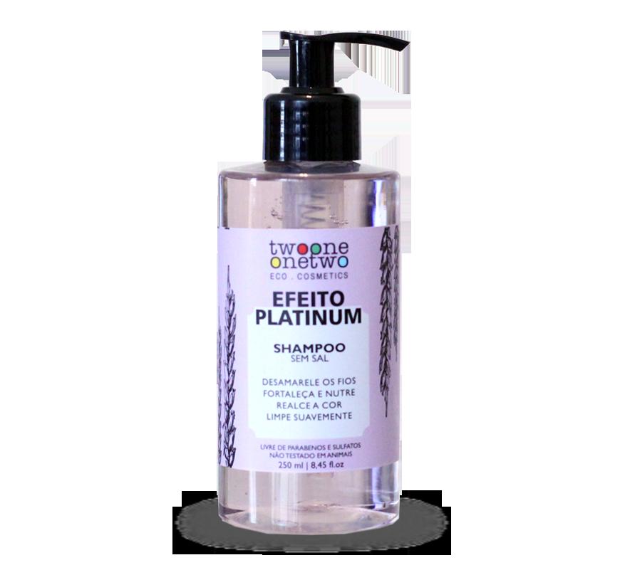 Kit Shampoo e Condicionador Vegano Efeito Platinum - Cabelos loiros e grisalhos - Twoone Onetwo  - Verdê Cosméticos