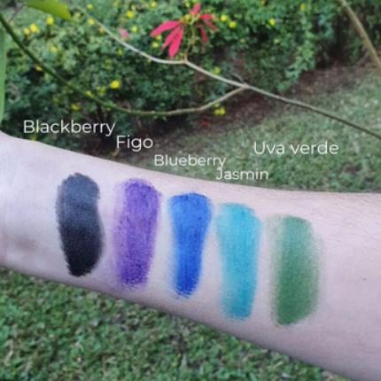Maquiagem Sólida Multifuncional - Blackberry - Amo Karité  - Loja da Verdê