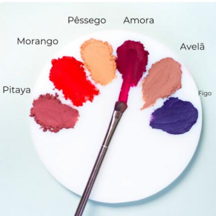 Maquiagem Sólida Multifuncional - Cereja - Amo Karité  - Verdê Cosméticos