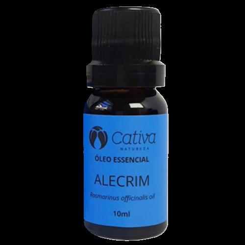 Óleo Essencial - Alecrim - Cativa Natureza  - Verdê Cosméticos