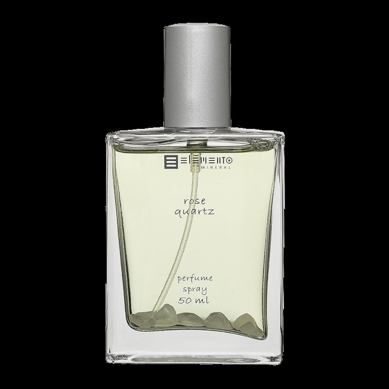 Perfume Vegano Rose Quartz - Elemento Mineral  - Loja da Verdê