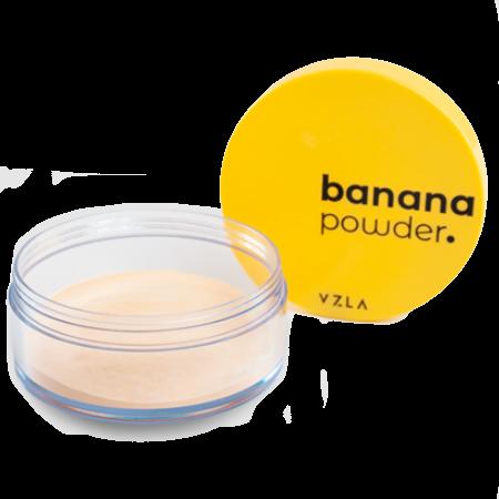 Pó Facial Banana Powder - color adapt - Vizzela  - Verdê Cosméticos