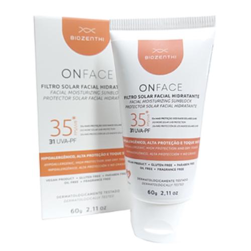 Protetor Solar Facial Vegano Hidratante - FPS35 - Biozenthi  - Verdê Cosméticos