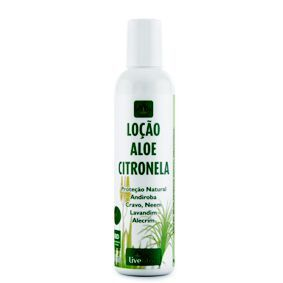 Repelente vegano loção Aloe Citronela - Livealoe  - Verdê Cosméticos