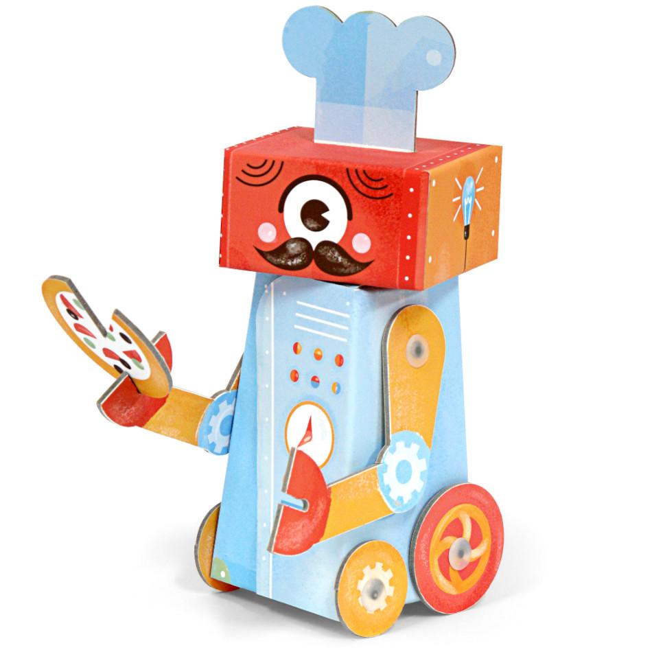 Robô de Montar - Chef - Krooom  - Loja da Verdê