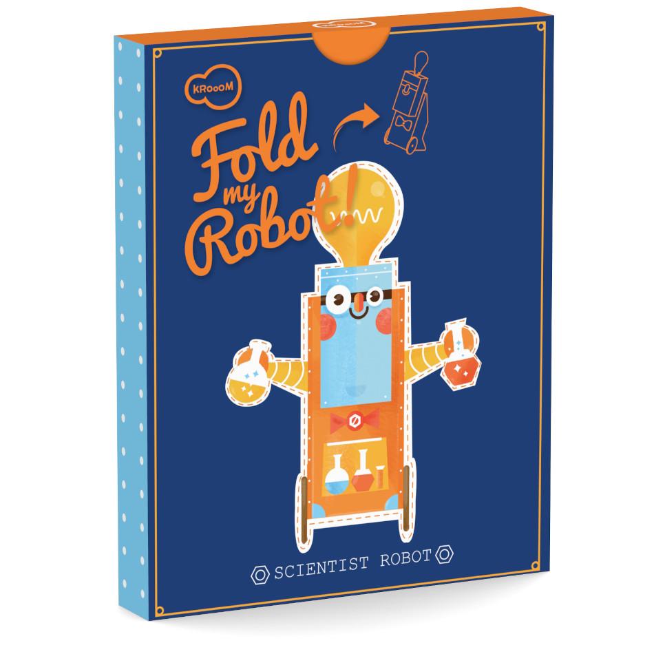 Robô de Montar - Cientista - Krooom  - Loja da Verdê
