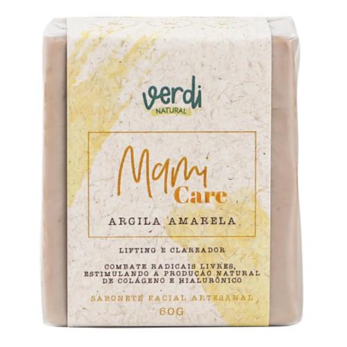 Sabonete Facial Argila Amarela - clareador - Verdi Natural  - Loja da Verdê