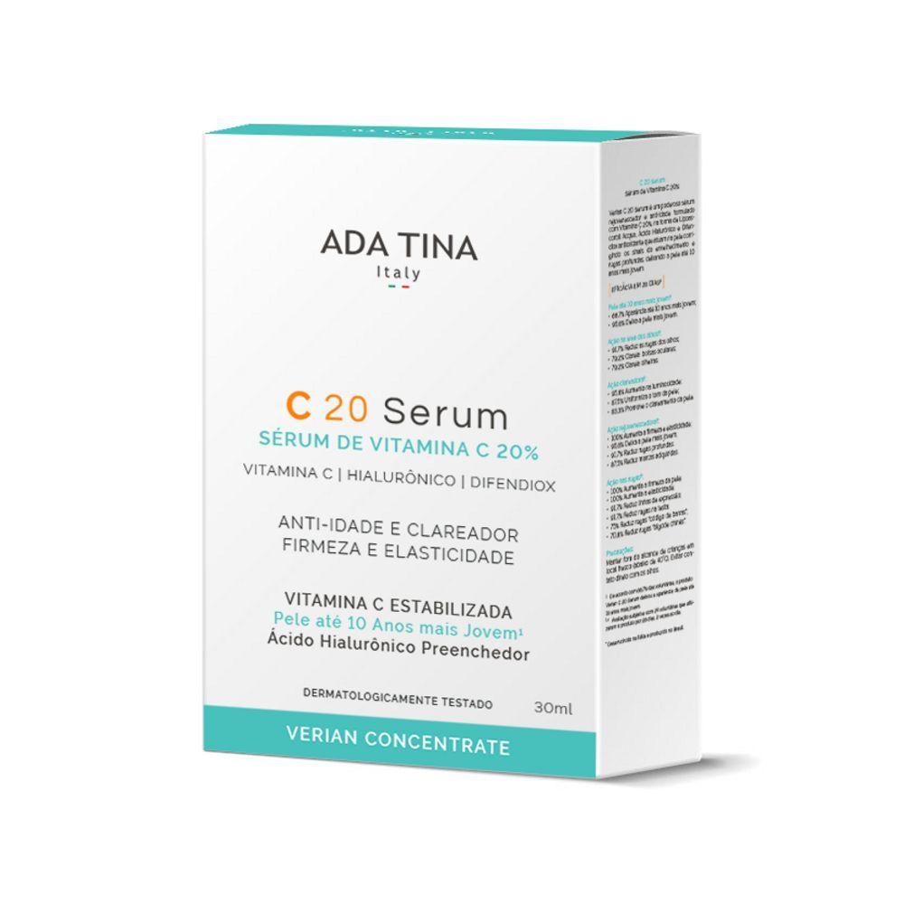 Sérum Vegano Vitamina C - C20 - Ada Tina  - Verdê Cosméticos