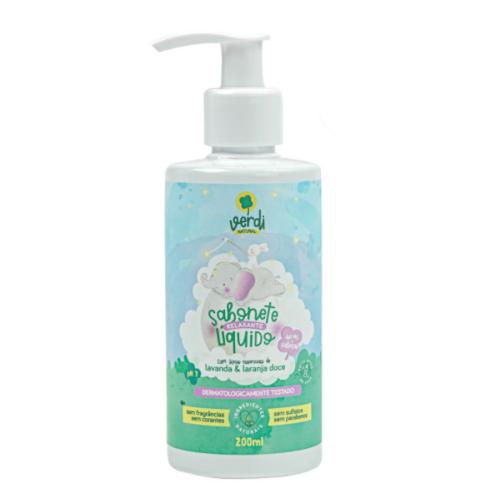 Shampoo e Sabonete Líquido com Óleos Essenciais - Lavanda e Laranja Doce - Verdi Natural  - Loja da Verdê