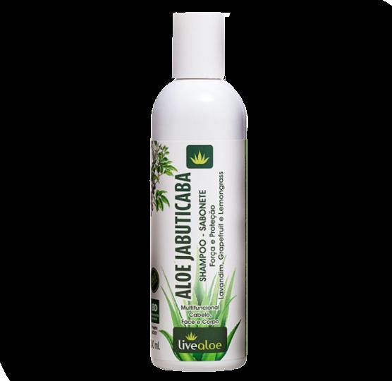 Shampoo e Sabonete Vegano - Aloe Jabuticaba - Livealoe  - Loja da Verdê