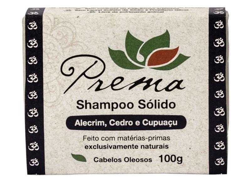 Shampoo Sólido - Alecrim, Cedro e Cupuaçu - cabelos oleosos - Prema  - Verdê Cosméticos