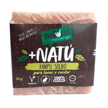 Shampoo Sólido Natural - Todos os Tipos de Cabelos - Natural Messenger  - Loja da Verdê