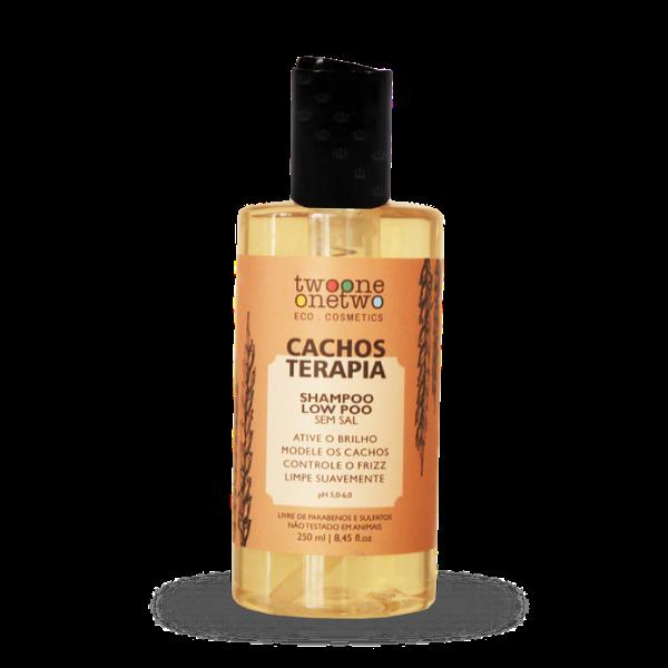 Shampoo Vegano Cachos Terapia - Twoone Onetwo  - Verdê Cosméticos