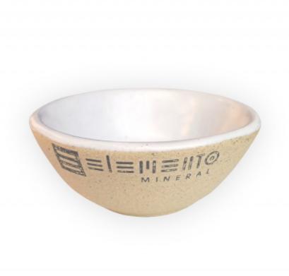 Tigela de Cerâmica Para Argila - Elemento Mineral  - Verdê Cosméticos