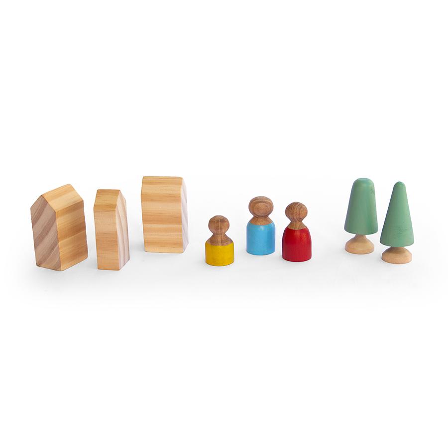 Vilarejo - Lume Brinquedos  - Loja da Verdê