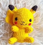 """Amigurumi """"PIKACHU"""" Pokémon"""