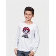"""Camiseta Infantil """"SUPER MARIO"""""""