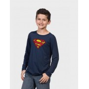 "Camiseta Infantil ""SUPERMAN"" DC"