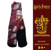 """Meia Infantil DIVERTIDA """"GRIFINÓRIA"""" Harry Potter"""