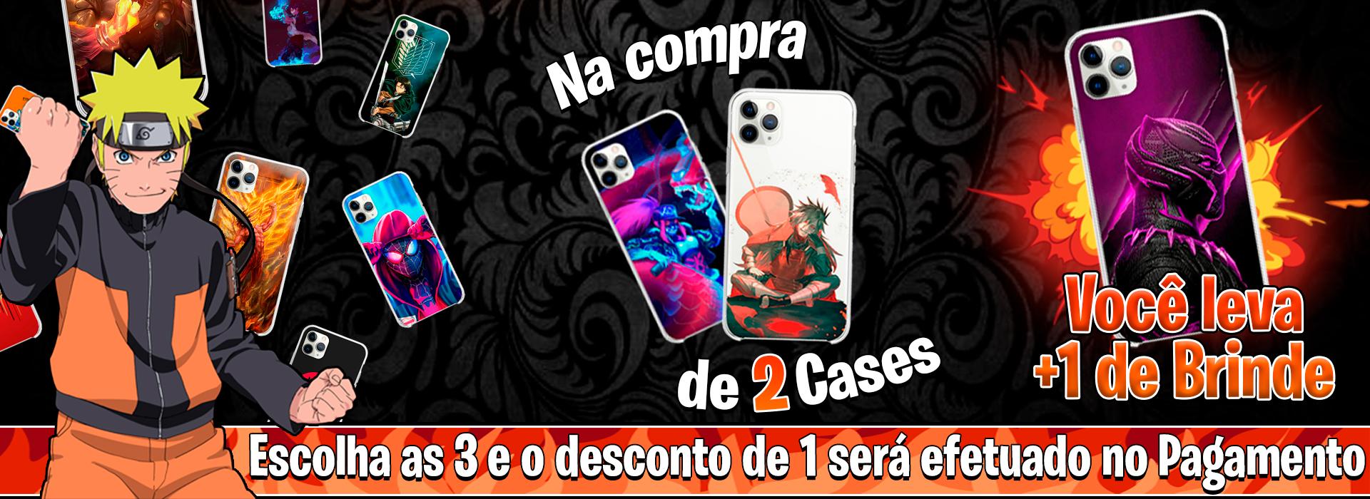 Leve uma Case de Brinde  ;): Na escolha de 3 Cases, 1 delas será um Presente nosso para você 🧡 🎁