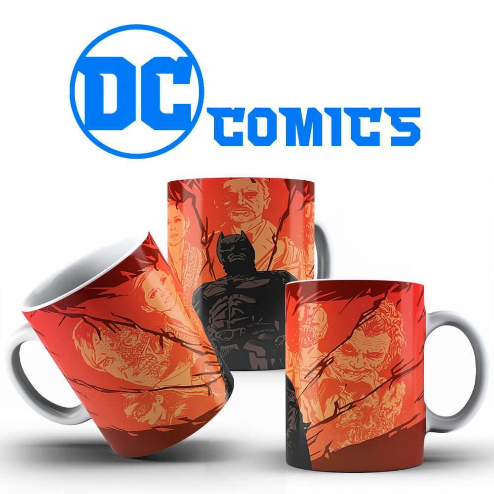 Caneca - Batman, O Cavaleiro das Trevas