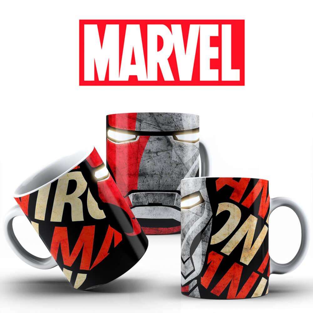 Caneca - Iron Man