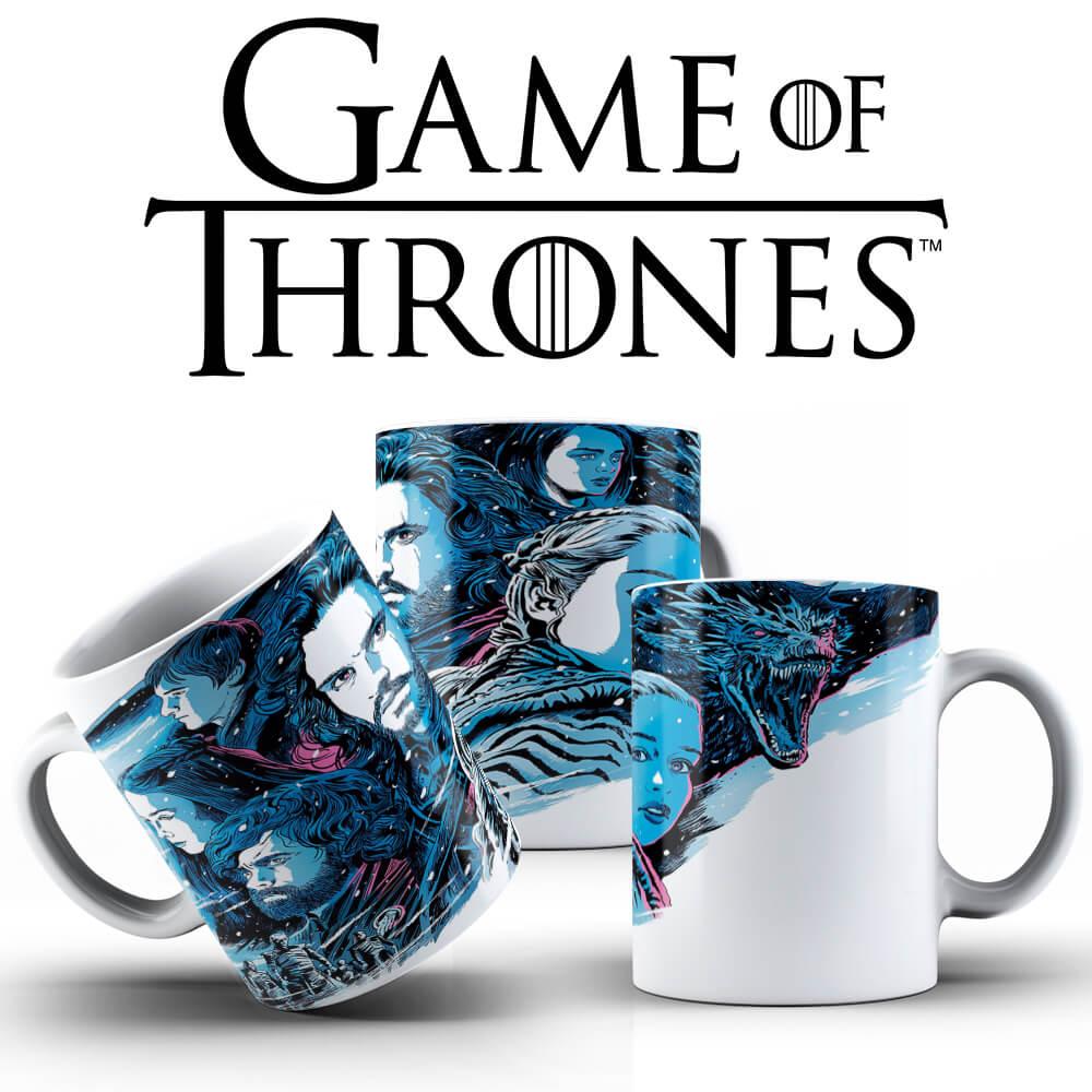 Caneca - Jon Snow