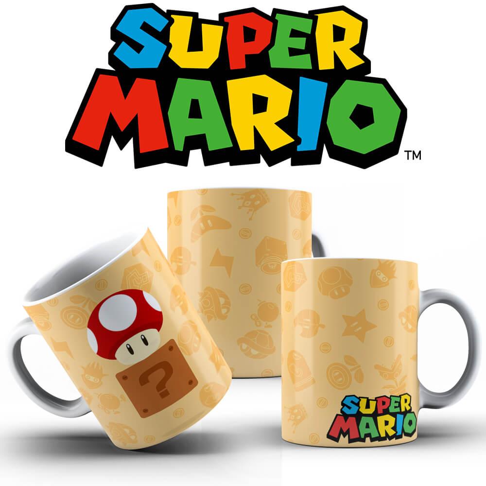 Caneca - Life Mario