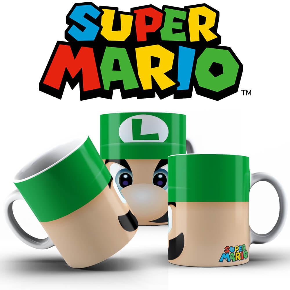 Caneca - Luigi Face