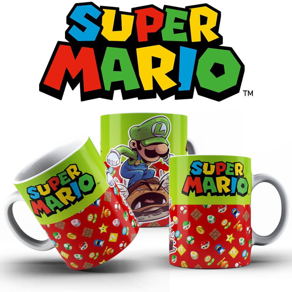 Caneca - Luigi Smashing