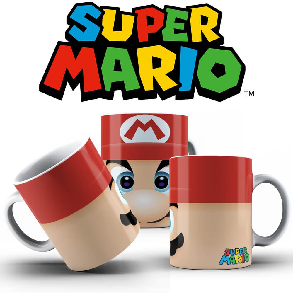 Caneca - Mario Face