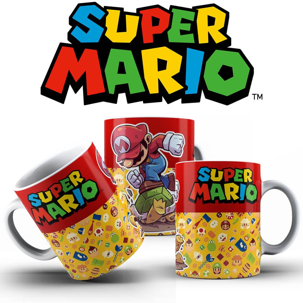 Caneca - Mario Smashing