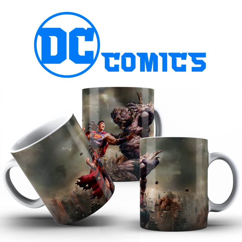 Caneca - Superman vs Apocalypse