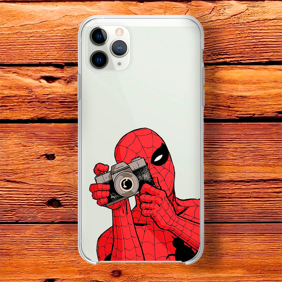 Capinha - Spider-Man Cam