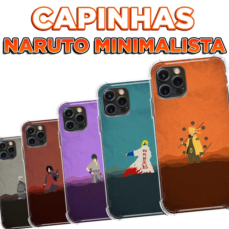 Capinhas - Naruto Minimalista