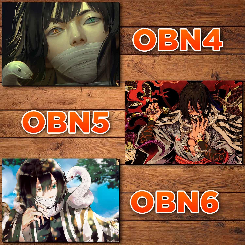 Catálogo - Obanai