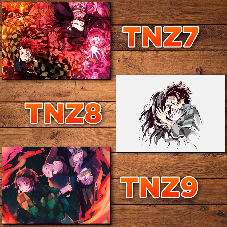 Catálogo - Tanjiro e Nezuko