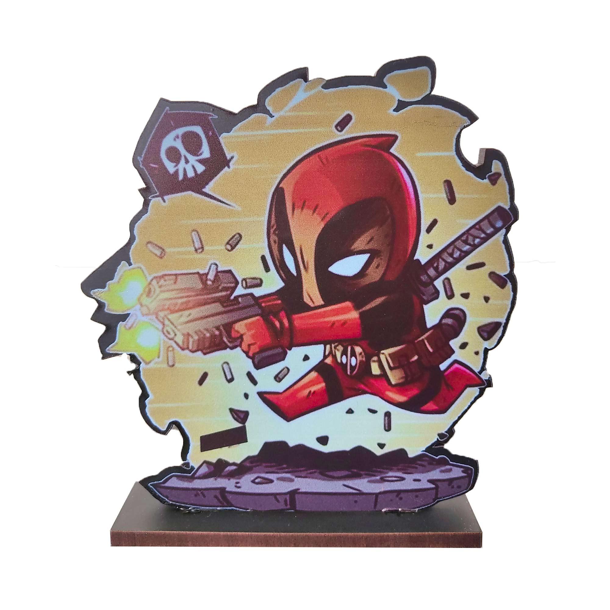 Estatueta Deadpool - Marvel