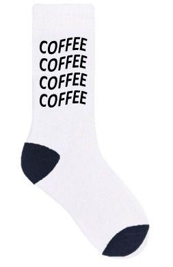 "Meia DIVERTIDA ""COFFEE"""