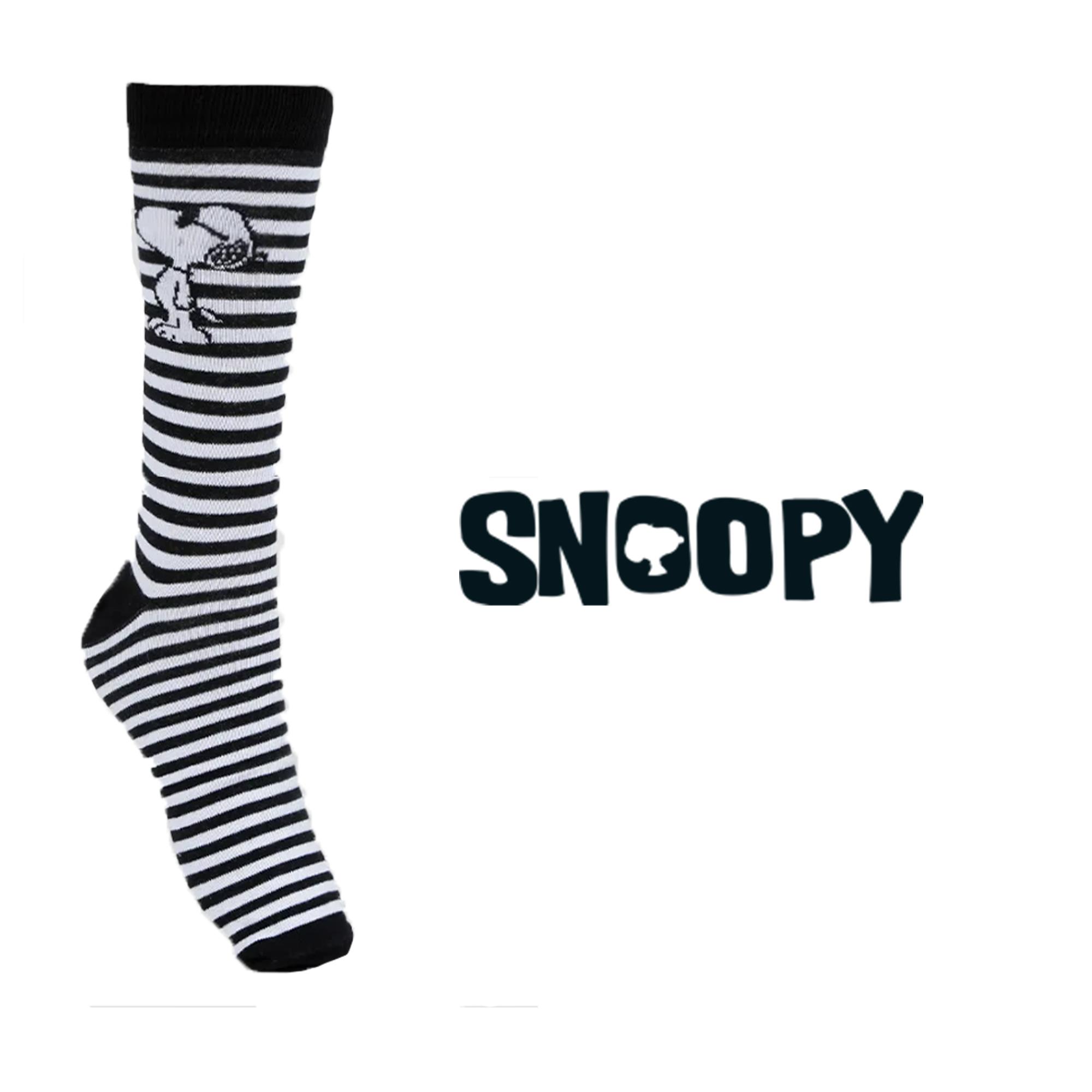 Meia Divertida - Snoopy