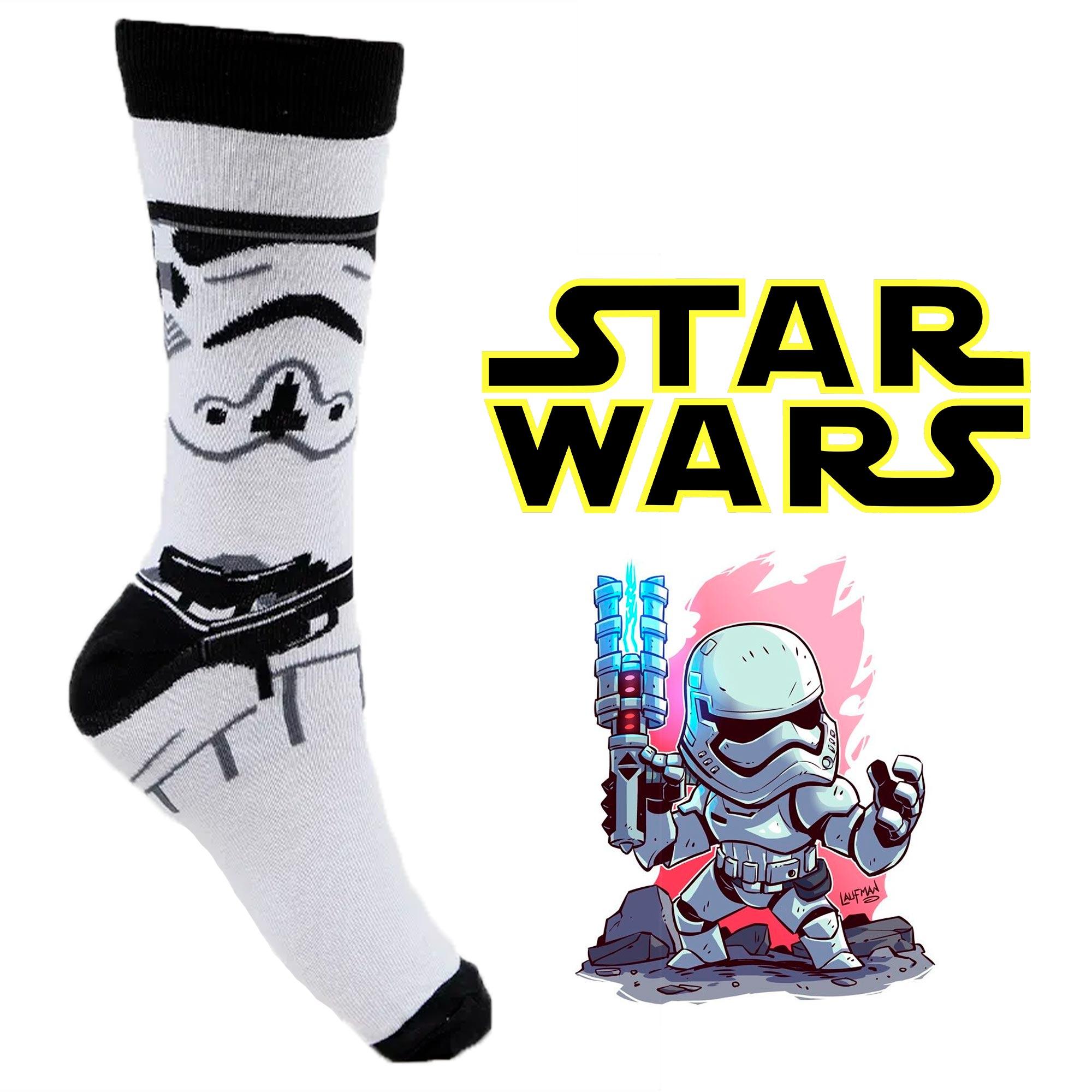 Meia Divertida - Stormtrooper