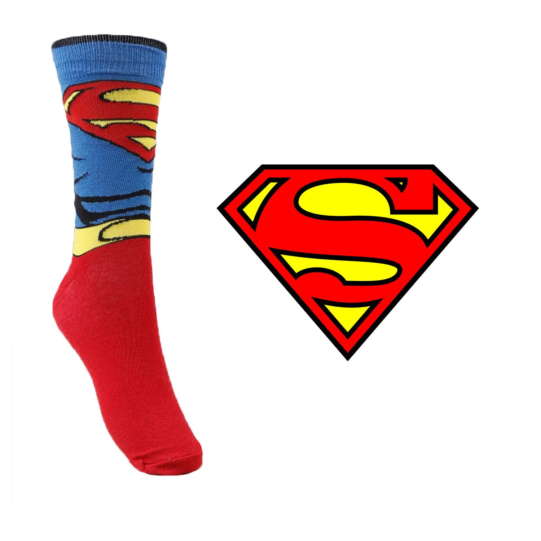 Meia Divertida - Superman Brasão